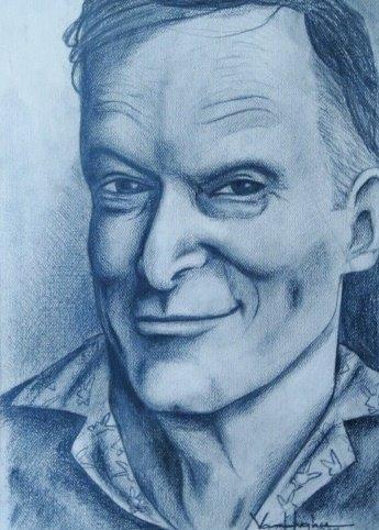 Hugh Hefner by Vannagain